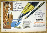 1959 Sheaffer Fountain Pens With Snorkel