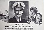 Vintage Ad: 1945 They Were Expandable W/ John Wayne