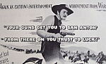 Vintage Ad: 1945 San Antonio With Errol Flynn