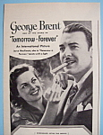 Vintage Ad: 1945 Blackstone Cigars With George Brent