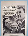 Vintage Ad: 1945 Blackstone Cigars With George Brent