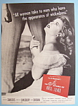 Vintage Ad: 1947 The Private Affairs Of Bel Ami