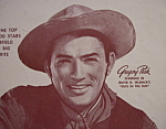 Vintage Ad: 1947 Chesterfield Cigarettes W/gregory Peck
