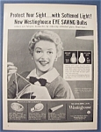 1955 Westinghouse Bulbs With Betty Furness