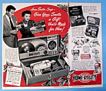 Vintage Ad: 1950 Home Utility Tools W/ Anne Baxter