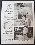 1945 Lux Soap With Gene Tierney