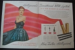 1946 Max Factor Lipstick With Maureen O' Hara