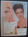1946 Max Factor With Donna Reed