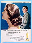 1958 Halo Shampoo With John Saxon (The Restless Years)