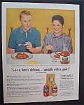 1956 Karo Syrup With George & Alice Goebel