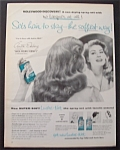 1956 Lustre Net Hair Spray With Anita Ekberg