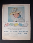 Vintage Ad: 1958 Lux Soap With Erin O' Brien