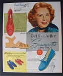 Vintage Ad: 1953 Summerettes With Rhonda Fleming