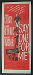 Vintage Ad: 1959 Say One For Me With Bing Crosby