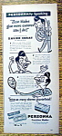 Vintage Ad: 1947 Personna Blades With Xavier Cugat