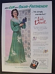 1951 Lux Soap With Linda Darnell