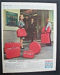 1965 American Tourister Luggage With Eva Marie Saint