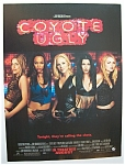 2000 Movie Ad For Coyote Ugly