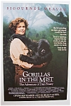 1988 Movie Ad For Gorillas In The Mist