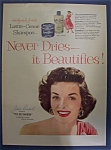 1954 Lustre - Creme Shampoo With Jane Russell