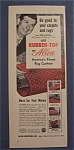 1954 Rubber - Top Rug Cushion W/ Don Mcneill