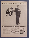 1955 Virginia Dare Wine With Peter Lorre