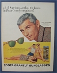 1955 Fosta - Grantly Sunglasses With Jeff Chandler