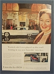 1958 Lincoln With Helen Hayes