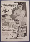1940 Lux Toilet Soap With Joan Bennett