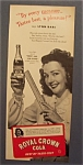 1944 Royal Crown Cola With Lynn Bari