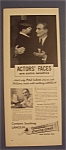 Vintage Ad: 1943 Williams Shaving Cream With Paul Lukas