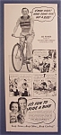 1940 Ride A Bike With Joe Penner