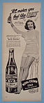 Vintage Ad: 1950 Royal Crown Cola W/ Mona Freeman