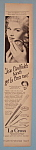 Vintage Ad: 1950 La Cross With Joan Caufield