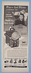 Vintage Ad: 1948 Spartus Press Flash W/ Teresa Wright