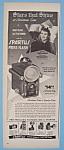 Vintage Ad: 1948 Spartus Press Flash W/ Teresa Wright
