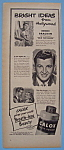 Vintage Ad: 1946 Calox Tooth Powder W/ Eddie Bracken