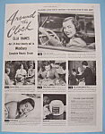 Vintage Ad: 1946 Woodbury Beauty Cream W/ella Raines