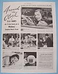 Vintage Ad: 1946 Woodbury Beauty Cream W/ella Raines