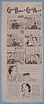 Vintage Ad: 1937 Grape-nuts W/ G. Burns & G. Allen