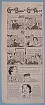 Vintage Ad: 1937 Grape-nuts W/ G. Burns & G. Allen