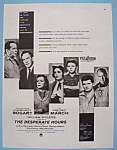 Vintage Ad: 1955 The Desperate Hours W/ H. Bogart