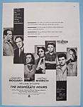 Vintage Ad: 1955 The Desperate Hours W/ H. Bogart