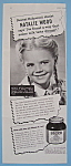 Vintage Ad: 1946 Bosco With Natalie Wood