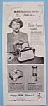 Vintage Ad: 1949 Km Appliances With Claire Trevor