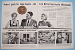 Vintage Ad: 1958 Medallion Homes W/ Ronald Reagan