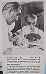 Vintage Ad: 1941 Williams Shaving Cream W/boris Karloff