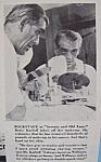 Vintage Ad: 1941 Williams Shaving Cream W/boris Karloff