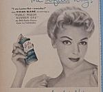 Vintage Ad:1956 Lustre-net Spray Set With Vivian Blaine