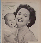 Vintage Ad: 1956 Linit Starch With Ann Blyth